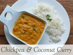 chickpea and coconut curry