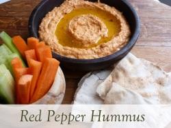red pepper hummus